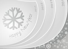 New Year 2013 in the way Royalty Free Stock Photo