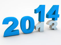 New Year 2014 Royalty Free Stock Photo