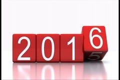 New Year 2016 Stock Photos