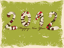 New year. 2012 greeting card Stock Images