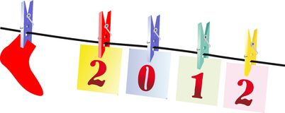 New Year Royalty Free Stock Photo