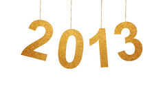 New Year. Card for 2013 Royalty Free Stock Photo