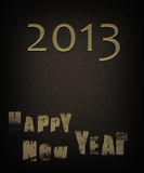 New year. Card 2013 for background royalty free illustration