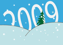 New Year. 's and Christmass collection of illustrations vector illustration