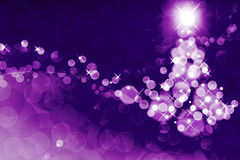 New Year abstract background. With snowflakes and flashes of light royalty free illustration