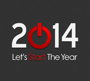 New year 2014. Abstract background Stock Image