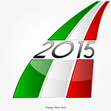 New Year 2015. Abstract Background - Happy New Year 2015 stock illustration