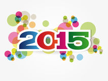 New Year 2015. Abstract Background - Happy New Year 2015 vector illustration