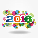 New Year 2016. Abstract Background - Happy New Year 2016 Stock Photography