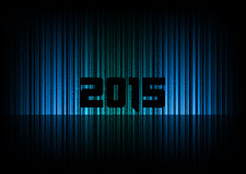 New Year 2015. Abstract background with numbers. Vector symbol Vector Illustration