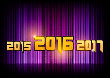 New year 2016. Abstract background with numbers. Vector symbol stock illustration