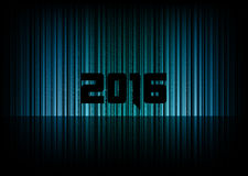 New year 2016. Abstract background with numbers. Vector symbol Stock Images