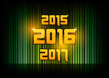 New year 2016. Abstract background with numbers. Vector symbol vector illustration