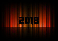 New year 2018 Royalty Free Stock Photography