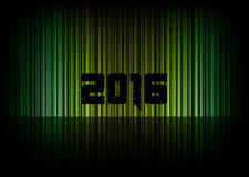 New year 2016. Abstract background with numbers. Vector symbol royalty free illustration