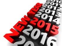 New year 2015 Royalty Free Stock Photos