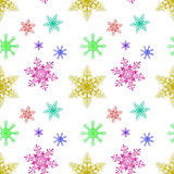 New Year 2015 Abstract seamless pattern background Stock Image