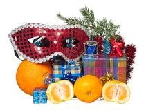 New year accessories Royalty Free Stock Image