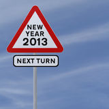 New Year Ahead Royalty Free Stock Images