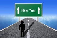 New Year Ahead Royalty Free Stock Photos