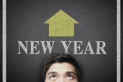 New year ahead Stock Photography