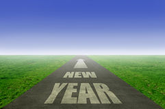 New year ahead Royalty Free Stock Image