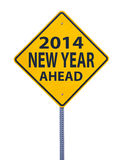 2014 new year ahead Stock Image