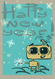 New year alien Royalty Free Stock Images