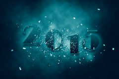 2015 new year. Anniversary text Stock Images