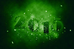 2015 new year. Anniversary text Royalty Free Stock Images