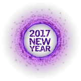 New Year as abstract fireworks Stock Photos
