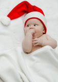 New year baby Stock Images