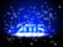 New Year 2015. Backgroud with a colorful number of 2015 Stock Photos