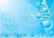 New Year background 1 Stock Photos