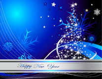 New Year background. Vector illustration of New Year background Stock Photos