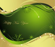 New Year background. Vector illustration of New Year background Royalty Free Stock Photo