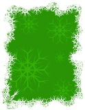 New Year background. Green and white New Year background Royalty Free Stock Photography