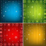 New Year Background. Beautiful Festive New Year Background Set Stock Image
