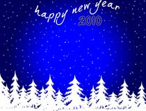 New Year background. Happy New Year background 2010 Stock Image