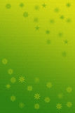 New year background. Gren yellow Royalty Free Stock Photography