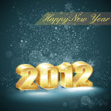 New year background. Illustration with new year background Royalty Free Stock Image