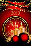 New Year background. Vector 2013 New Year background Royalty Free Stock Images