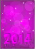 New year 2014. Background for new year 2014 Stock Illustration