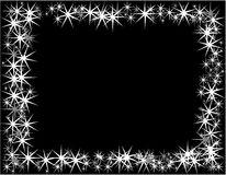 New Year  background. New Year and Christmas background, black vector illustration
