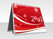 New Year background. Vector 3d note pade 2009 for design - New Year background Stock Photos