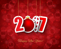 2017 new year background Royalty Free Stock Images