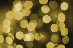 New year background with bokeh lights Stock Images