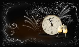 New year background celebrate Stock Photography