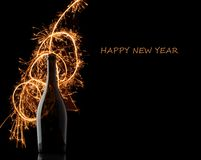 New year 2015 background Royalty Free Stock Photography
