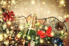 Christmas, decoration, background, holiday, New Year stock image